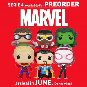 Preorder Serie 4 Marvel