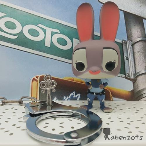Funko Pop Judy Hopps artístic