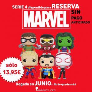 Resevas Marvel Serie 4