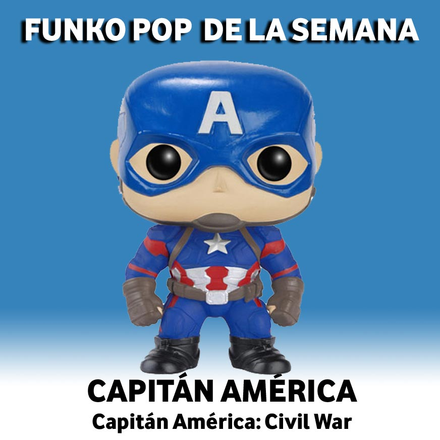 Funko Pop de la Semana Capitán América