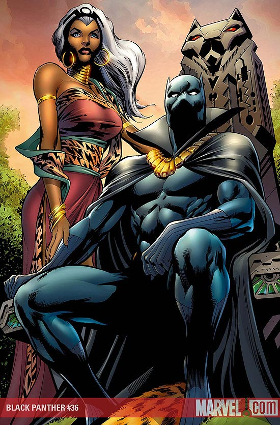 Pantera Negra y Tormenta