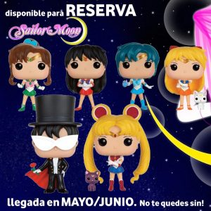 Reservas Sailor Moon