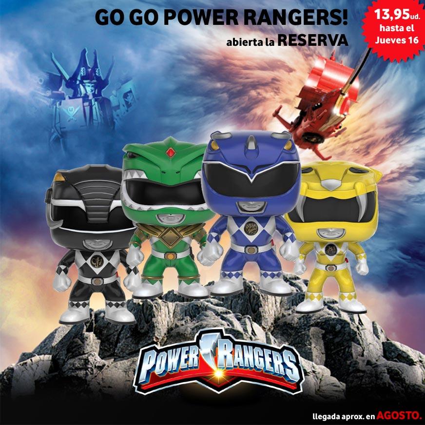 Reservas Power Rangers