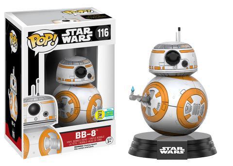 """BB-8 con el """"pulgar"""" hacia arriba"""