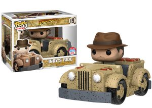 Funko Pop Indiana Jones jeep