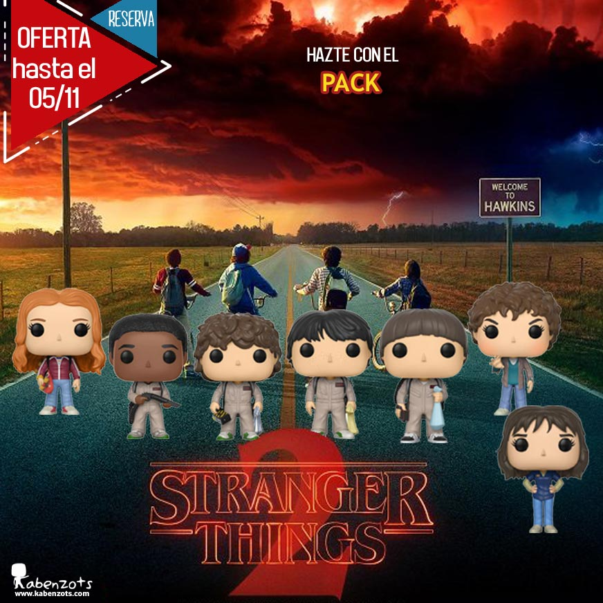Reserva Stranger Things