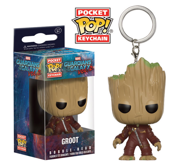 Llavero Pocket Pop Groot