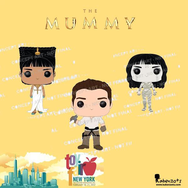 La Momia NY Toy Fair