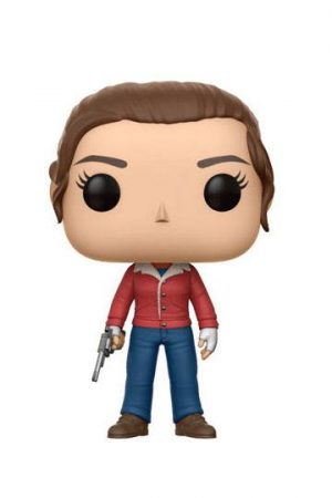 Funko Pop Nancy Wheeler con pistola