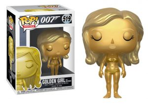 Funko Pop GOLDEN GIRL (Goldfinger)