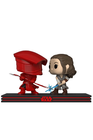 Funko Pop Movie Moments Rey vs Guradia Pretoriano