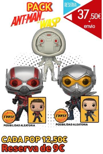 Funko Pop PACK ANT-MAN