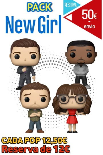 Funko Pop PACK NEW GIRL