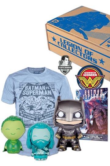 LEGION OF COLLECTORS BOX Batman v Superman