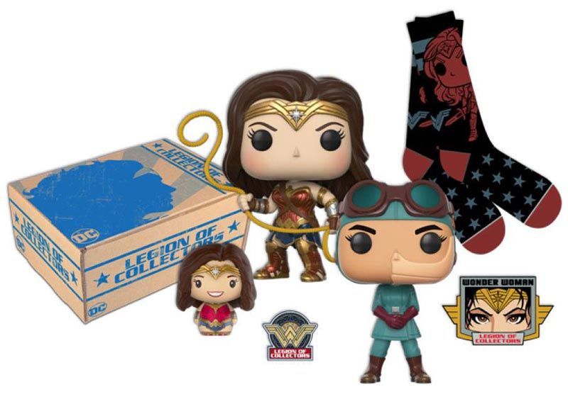 LEGION OF COLLECTORS BOX Wonder Woman