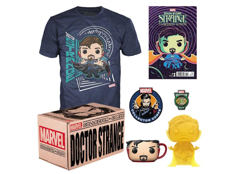 MARVEL COLLECTOR CORPS BOX DOCTOR STRANGE