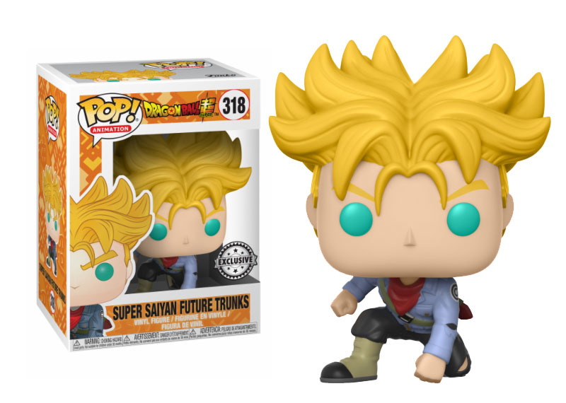Glam del Funko Pop TRUNKS DEL FUTURO SUPER SAIYAN