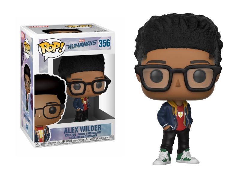Glam del Funko Pop ALEX WILDER