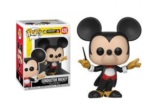Glam del Funko Pop MICKEY DIRECTOR DE ORQUESTRA