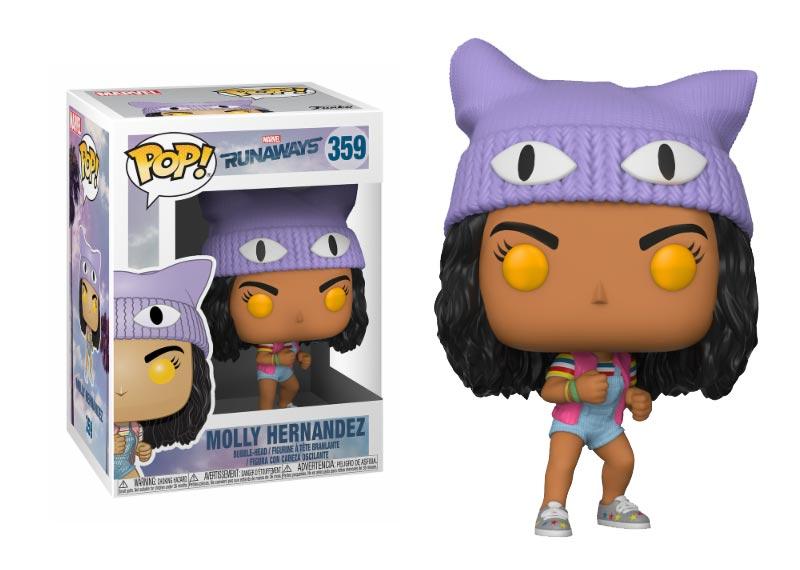 Glam del Funko Pop MOLLY HERNANDEZ