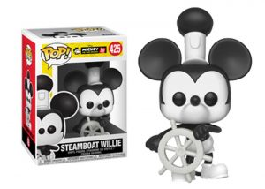 Glam del Funko Pop STEAMBOAT WILLIE