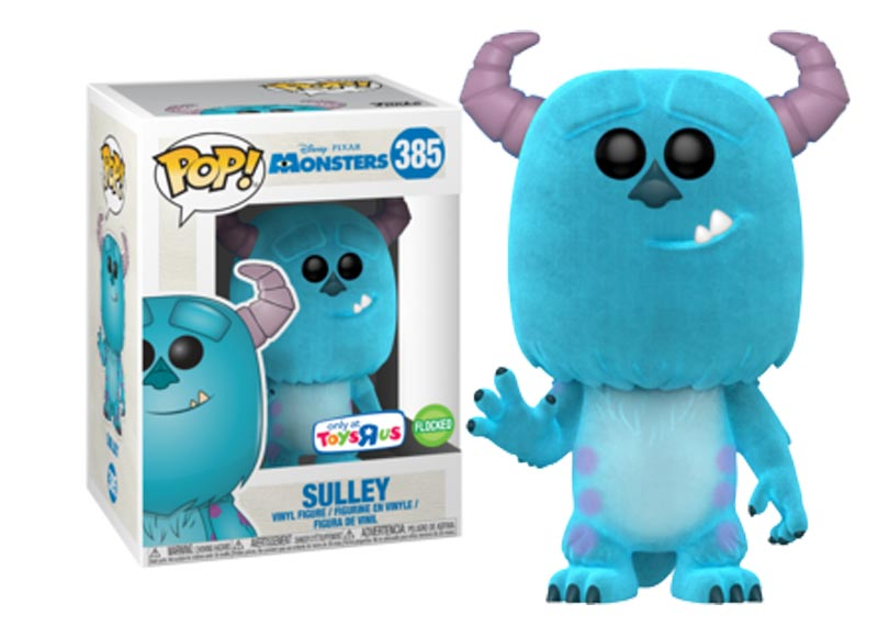 Glam del Funko Pop SULLEY FLOCKED