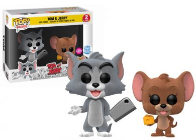 Glam del Funko Pop 2-PACK TOM Y JERRY FLOCKED