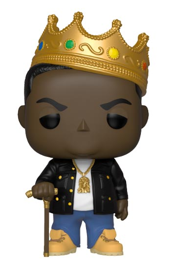Funko Pop NOTORIOUS BIG con corona