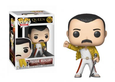 Glam del Funko Pop FREDDIE MERCURY WEMBLEY 1986
