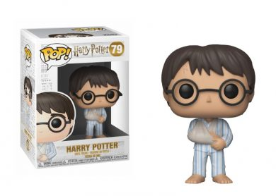 Glam del Funko Pop HARRY con pijama