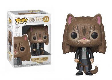 Glam del Funko Pop HERMIONE como gato