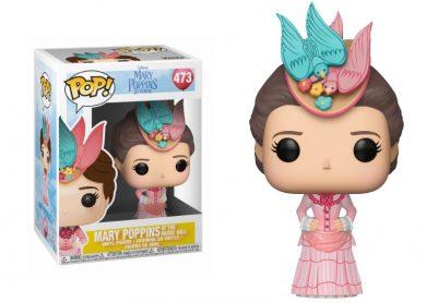 Glam del Funko Pop MARY POPPINS con vestido rosa