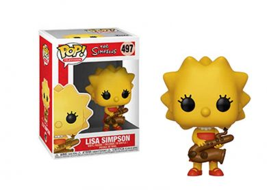 Glam del Funko Pop LISA SIMPSON