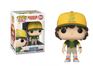 Glam del Funko Pop Dustin Campus