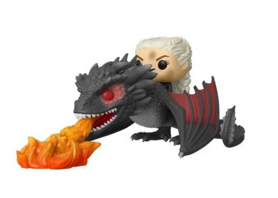 Glam del Funko Pop Ride DAENERYS con DROGON ARDIENDO