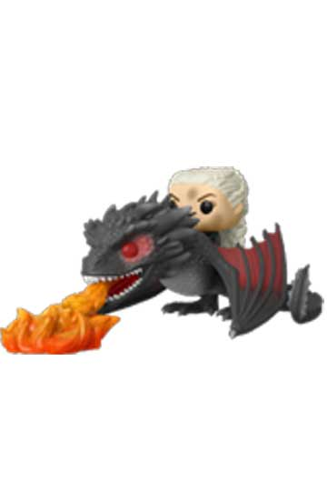 Funko Pop Ride DAENERYS con DROGON ARDIENDO