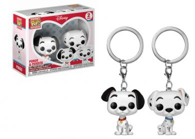 Glam del Llavero Pocket Pop PACK PONGO y PERDITA