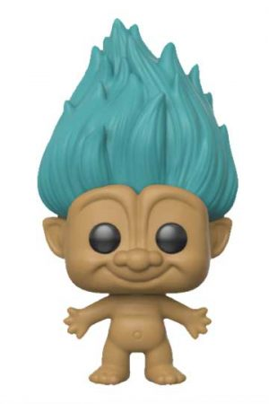 ¡Conjura tu buena suerte! ¿Pueden ser más cuquis? Que llegan los Pops de los muñecos TROLLS, con pelo real del muñeco, conel Funko Pop TROLL TURQUESA.