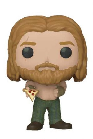 Funko Pop THOR con pizza