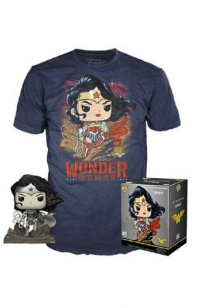 Set Pop Camiseta WONDER WOMAN