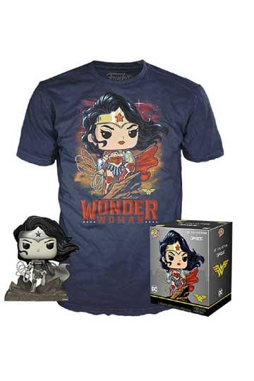 Set Pop Camiseta WONDER WOMAN