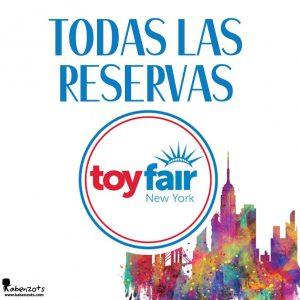 Reservas New York Toy Fair 2020