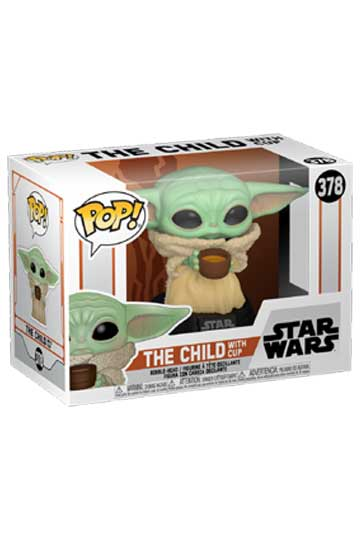 Funko Pop THE CHILD con taza