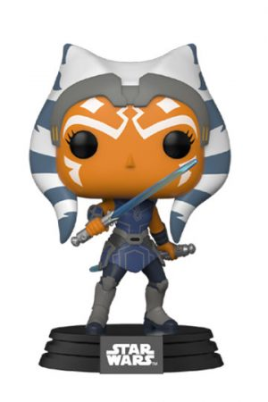 Funko Pop AHSOKA CON SABLE LÁSER
