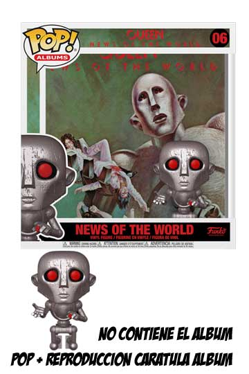 Funko Pop Albums NEWS OF THE WORLD