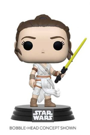 Funko Pop REY CON SABLE AMARILLO